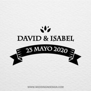 Sellos de boda Sevilla | Sello Save The Date | Catálogo Wedding & Design