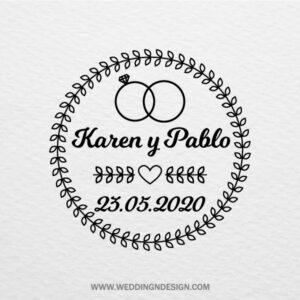Sellos de boda Sevilla | Sello Special Rings | Catálogo Wedding & Design