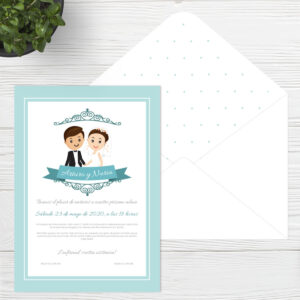 Invitaciones de boda Sevilla - Invitación Together - Catálogo Wedding & Design