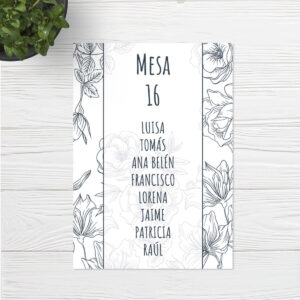 Seating plan boda Sevilla | Seating plan Day & Night | Catálogo Wedding & Design