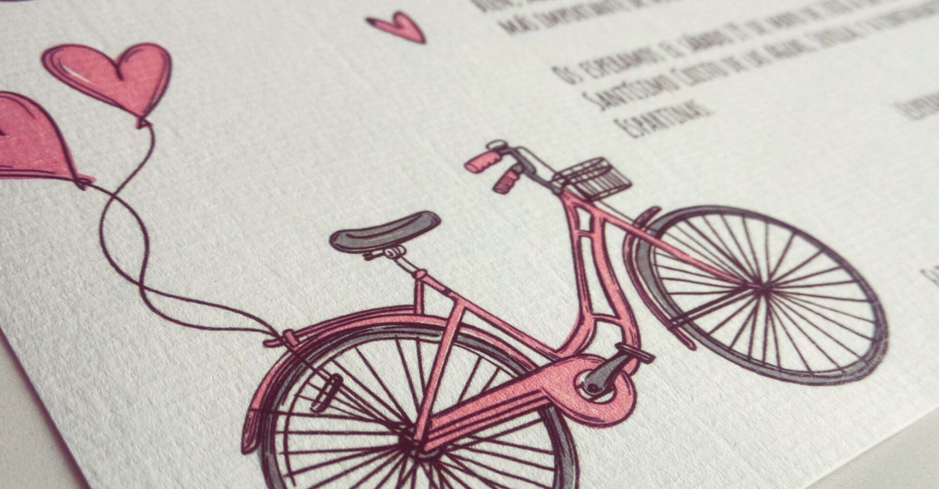 Invitaciones boda Sevilla - Invitación Bike - Wedding & Design
