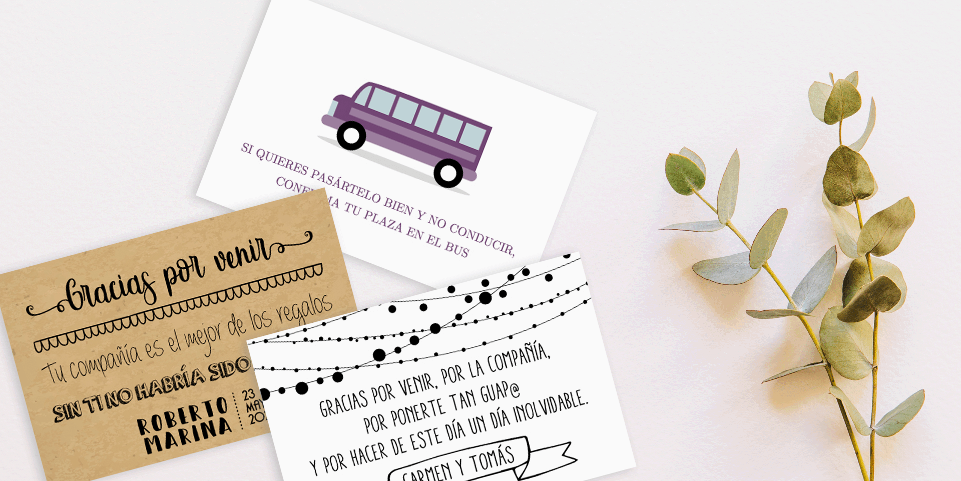 Invitaciones de boda en Sevilla - Wedding & Design